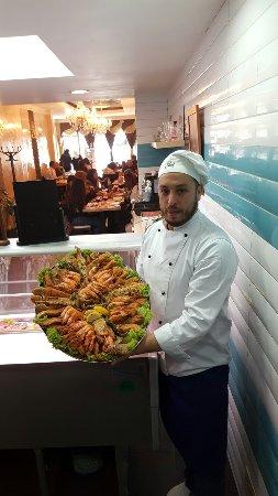 Anderlecht, Bélgica: Le Zee Restaurant & Poissonnerie