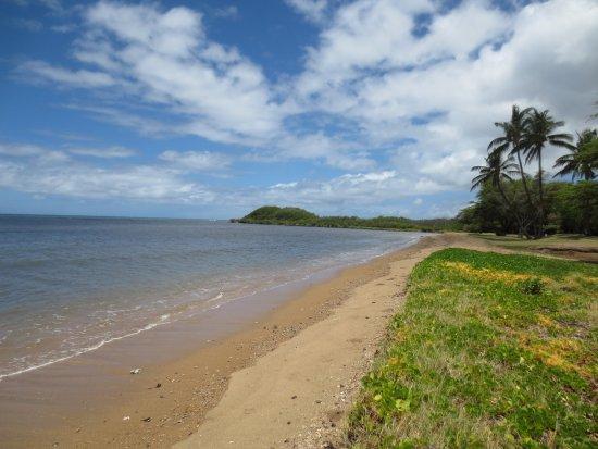 Kaunakakai, Hawái: The beach