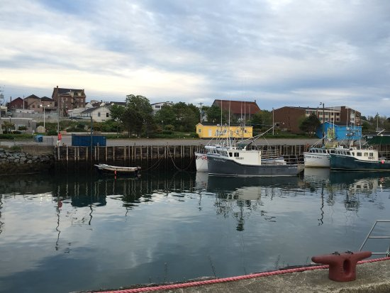 Yarmouth, Kanada: View from the public wharf