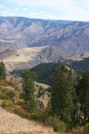 Hells Canyon National Recreation Area: Hells Canyon Overlook, off highway 39.