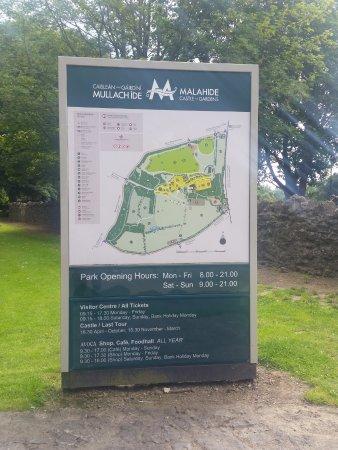 Malahide, Irlanda: Entrada