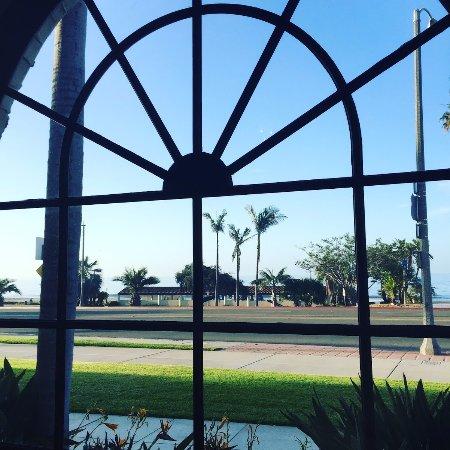 Hyatt Centric Santa Barbara: Hyatt is located right on the beach in Santa Barbara