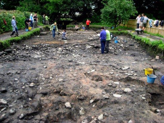 Ribchester, UK: Roman Baths dig