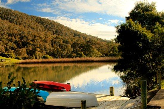 Merrijig, Australia: The lake