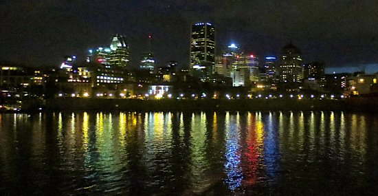 Montreal, Canadá: View when we returned to the pier
