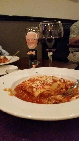 La Cucina Italian Grill : Li'l Butch loves La Cucina lasagna!