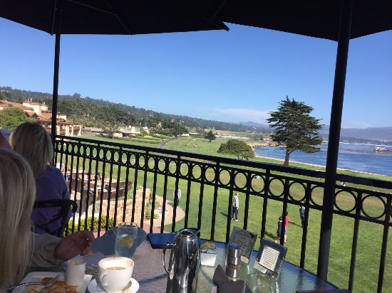 Pebble Beach, CA: bad photo of pretty scene