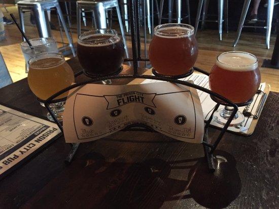 Auburn, NY: Beer Flight