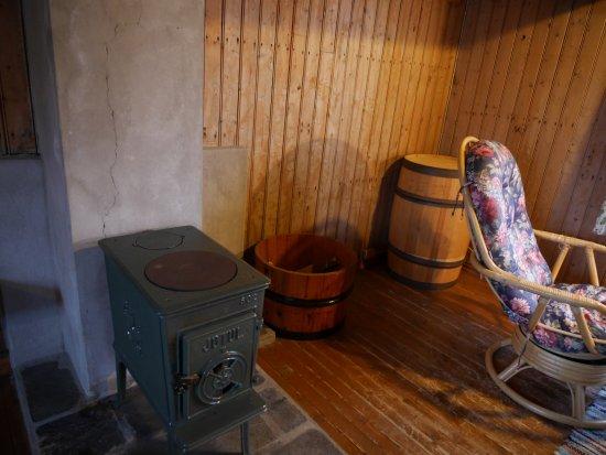 Reine, Noruega: 오래된 화로