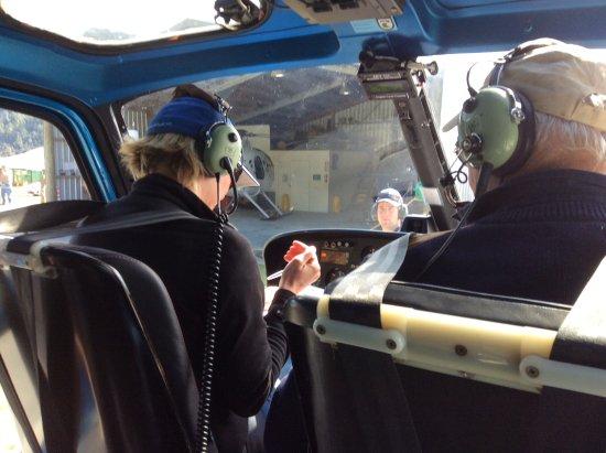 Franz Josef, Nowa Zelandia: About to take off!