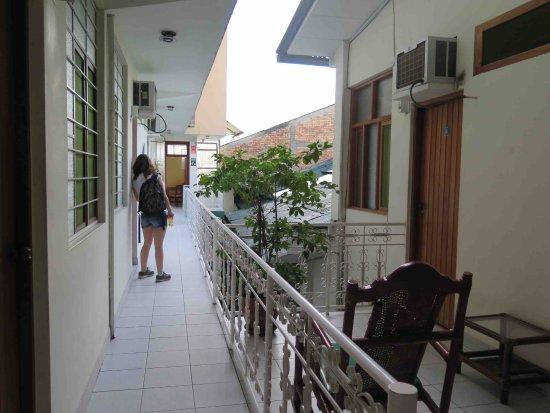 Hostal El Colibri: Segundo piso.