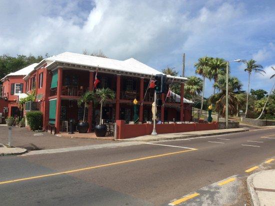 Hamilton Parish, Bermuda: From across the street