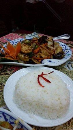 Otahuhu, Nueva Zelanda: Chicken stir fry