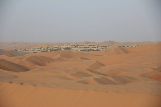 Qasr Al Sarab Desert Resort by Anantara: View from Dune Bashing Tour