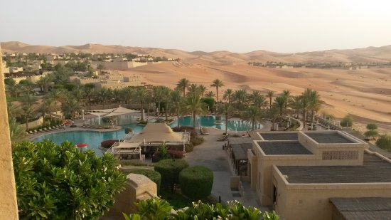 Qasr Al Sarab Desert Resort by Anantara: View from Garden View room