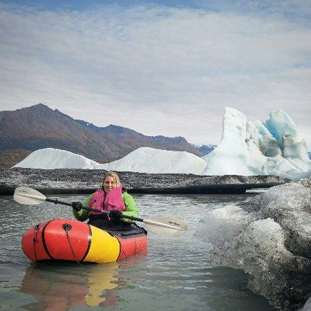 Palmer, AK: Knik Glacier Hiking and Packrafting Adventure