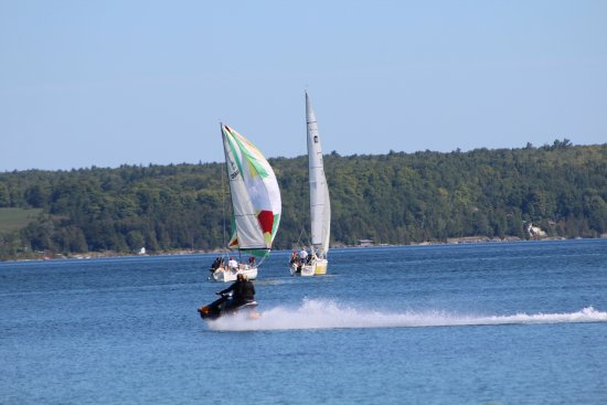Wiarton, Canada: Beautiful place to boat and/or sail
