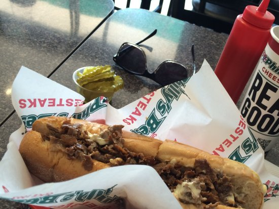 Аркадия, Калифорния: Classic Philly Cheesesteak @ Philly's Best