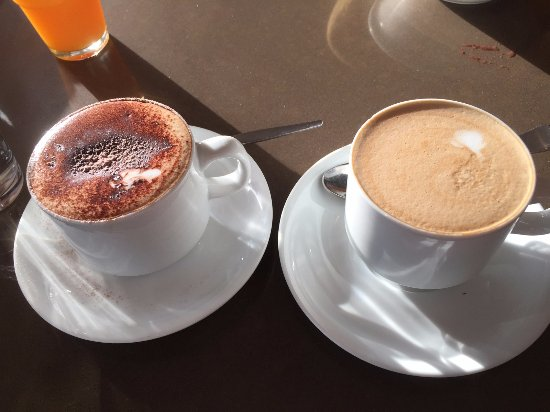 The Vines, Australia: Cappuccino and Flat White (the second day)