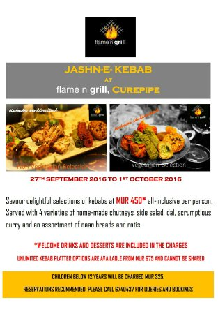 Curepipe: Flame n Grill