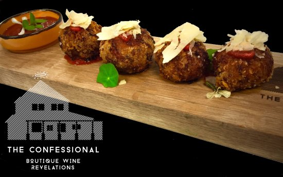 McLaren Vale, Australia: 'Pork & Caraway meatballs and smoked sugo' Recommended Wine; La Curio 'The Nubile' GSM #mclarenv