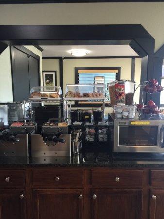 Waynesville, Carolina del Nord: Breakfast Area