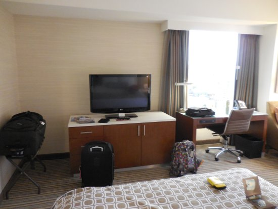Crowne Plaza Seattle Downtown Area: The Mini Fridge, Coffee Maker Are  Inside The Cabinet