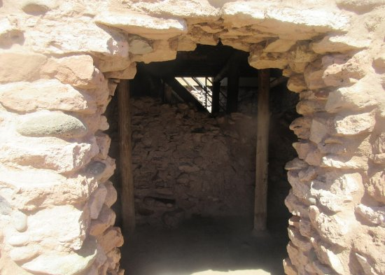 Clarkdale, AZ: Entrance Way, Tuzigoot National Monument, Cottonwood, AZ