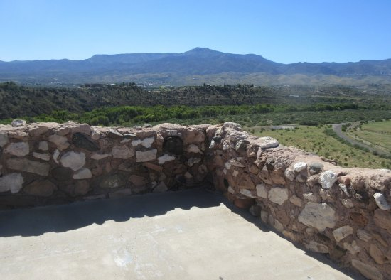 Clarkdale, AZ: View From Tuzigoot National Monument, Cottonwood, AZ