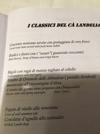 Noventa di Piave, İtalya: Paitti consigliati