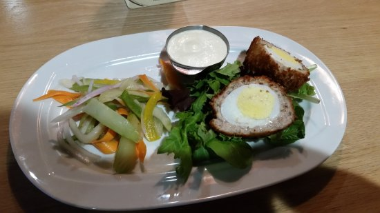 Prince George, Canada: Scotch Egg Appretizer