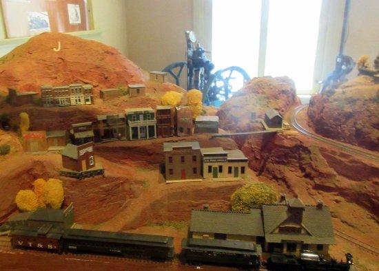 Model Railroad, Jerome State Historic Park Museum, Jerome, Az