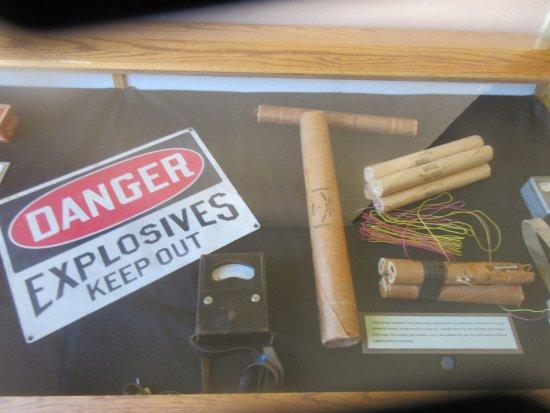 Mining Explosive, Jerome State Historic Park Museum, Jerome, Az