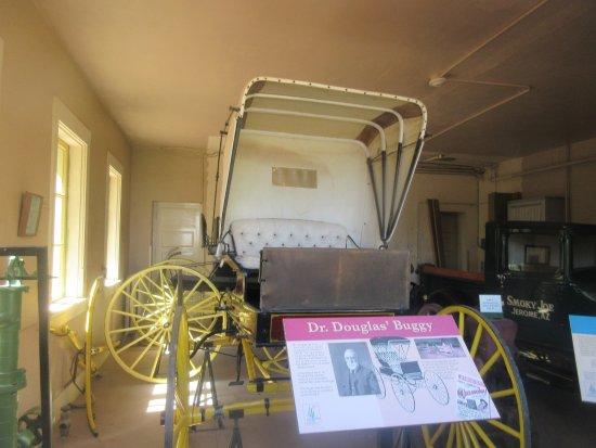 Stagecoach, Jerome State Historic Park Museum, Jerome, Az