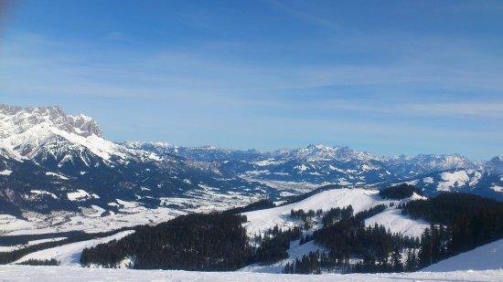 Brixen im Thale, Αυστρία: Ausblick am Abend