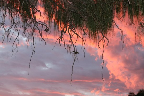 Yulara, Australien: Sunset at Kings Canyon