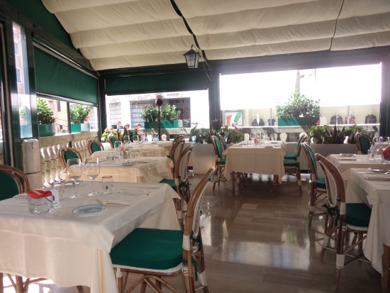A lovely outdoor dining area. - Picture of Ristorante La Terrazza ...