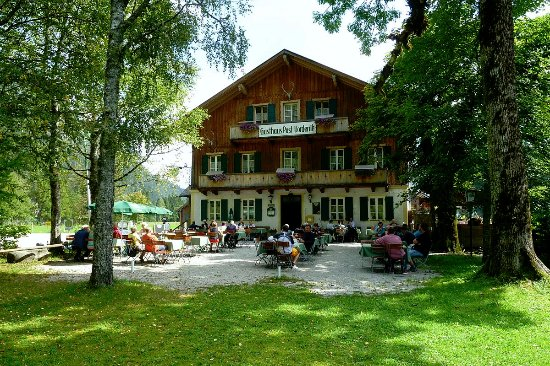 Lenggries, ألمانيا: Gasthaus Post Vorderriß