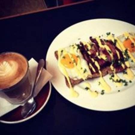 New Plymouth, Selandia Baru: cooked breakfasts