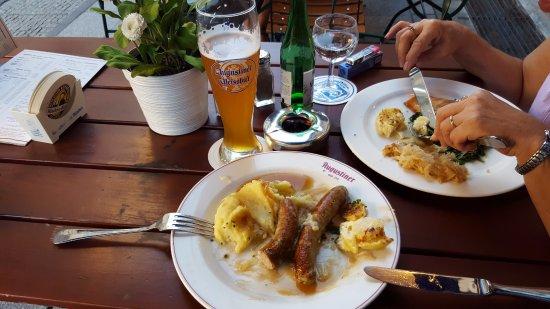 Augustiner am Gendarmenmarkt: the lunch