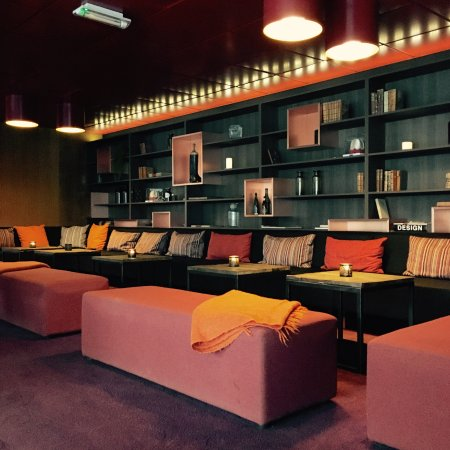 Lounge på Clarion Hotel Gillet
