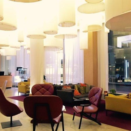 Lounge och lobby på Clarion Hotel Gillet