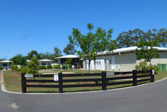 Chinchilla, Australia: Amenities block / and van sites,