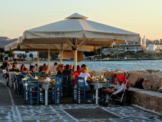 Taverna Mira: Evenenig mood!