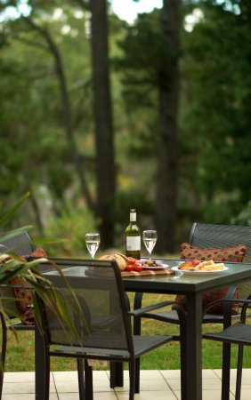 Wentworth Falls, Australie : Forest View Suite outdoor patio