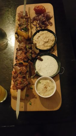 Epsom, Nova Zelândia: Yummy dips with both beef and lamb