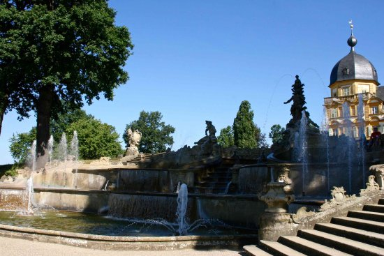 Memmelsdorf, Tyskland: La cascade