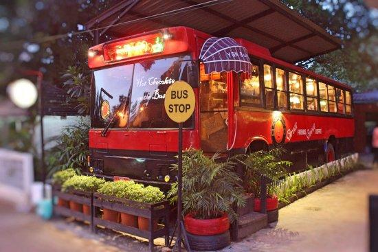 Ygn Bus Cafe Coffee Yangon Bus Yangon Rangoon
