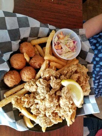 Rodanthe, Carolina do Norte: Fried oysters