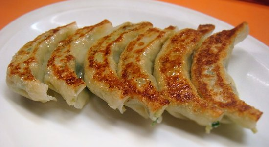 Mutsu, Japonia: Delicious gyoza make for a great appetizer or small snack.